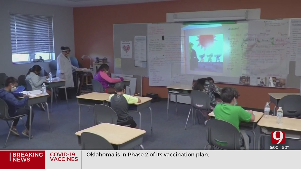 Teachers Concerned About Lack Of Vaccinations Ahead Of Return To In-Person Learning