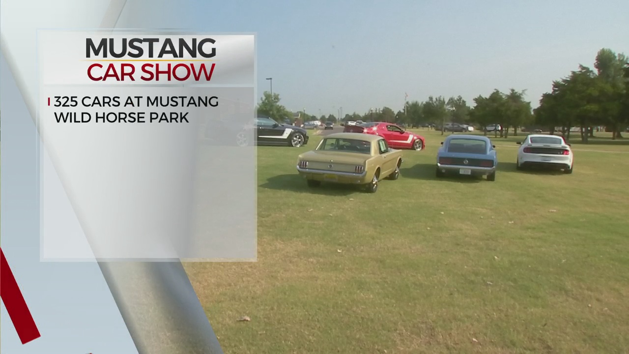 3-Day National Car Show Starts Up In Mustang
