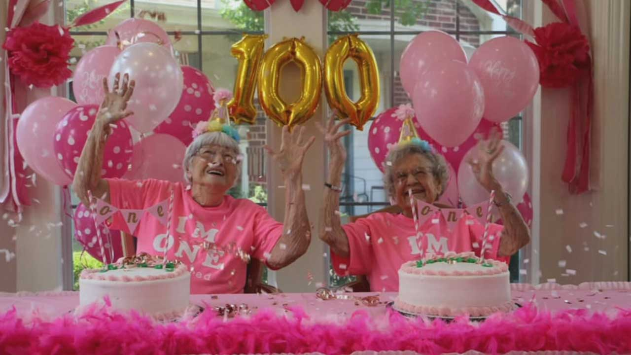 2 Residents At An OKC Assisted Living Facility Celebrating 100 Years