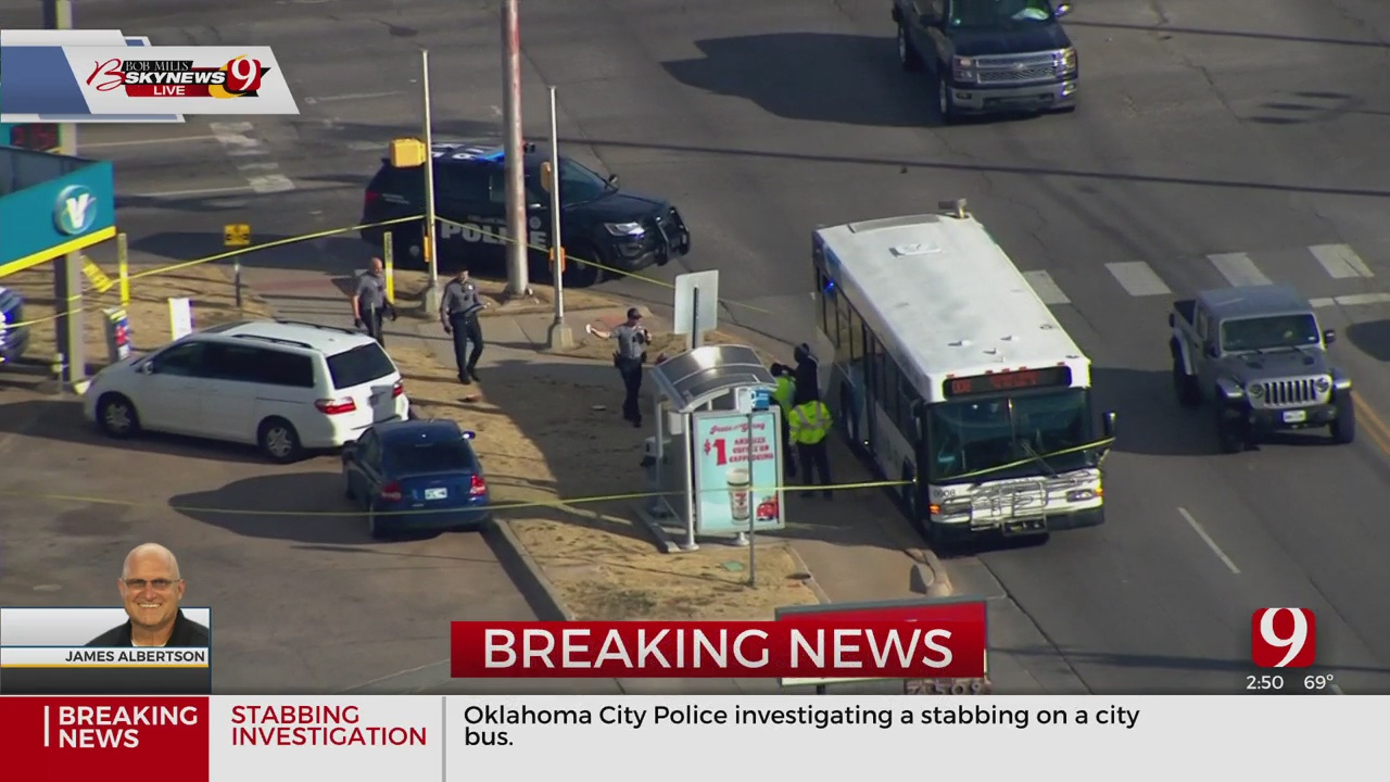1 Victim Stabbed On EMBARK Bus In NW OKC