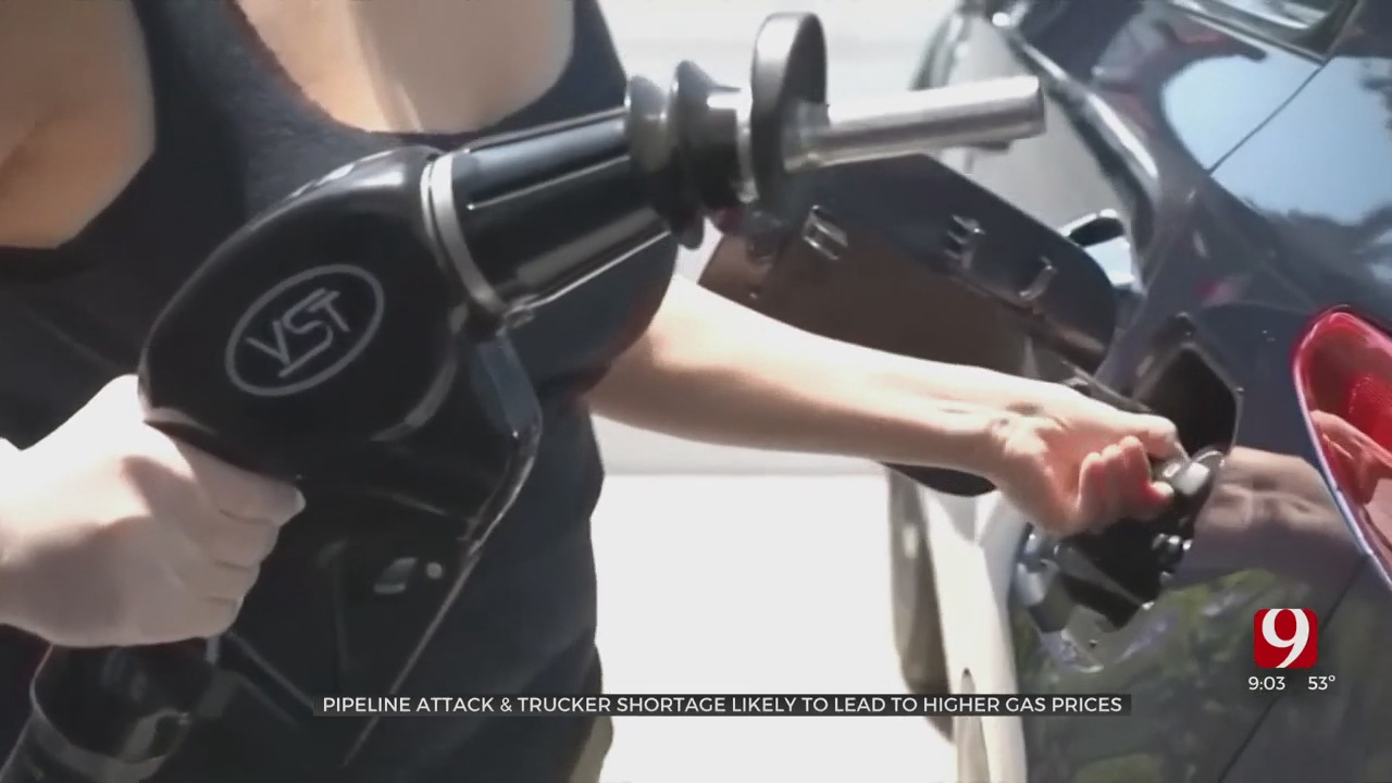 Pipeline Attack & Trucker Shortage Likely To Lead To Higher Gas Prices