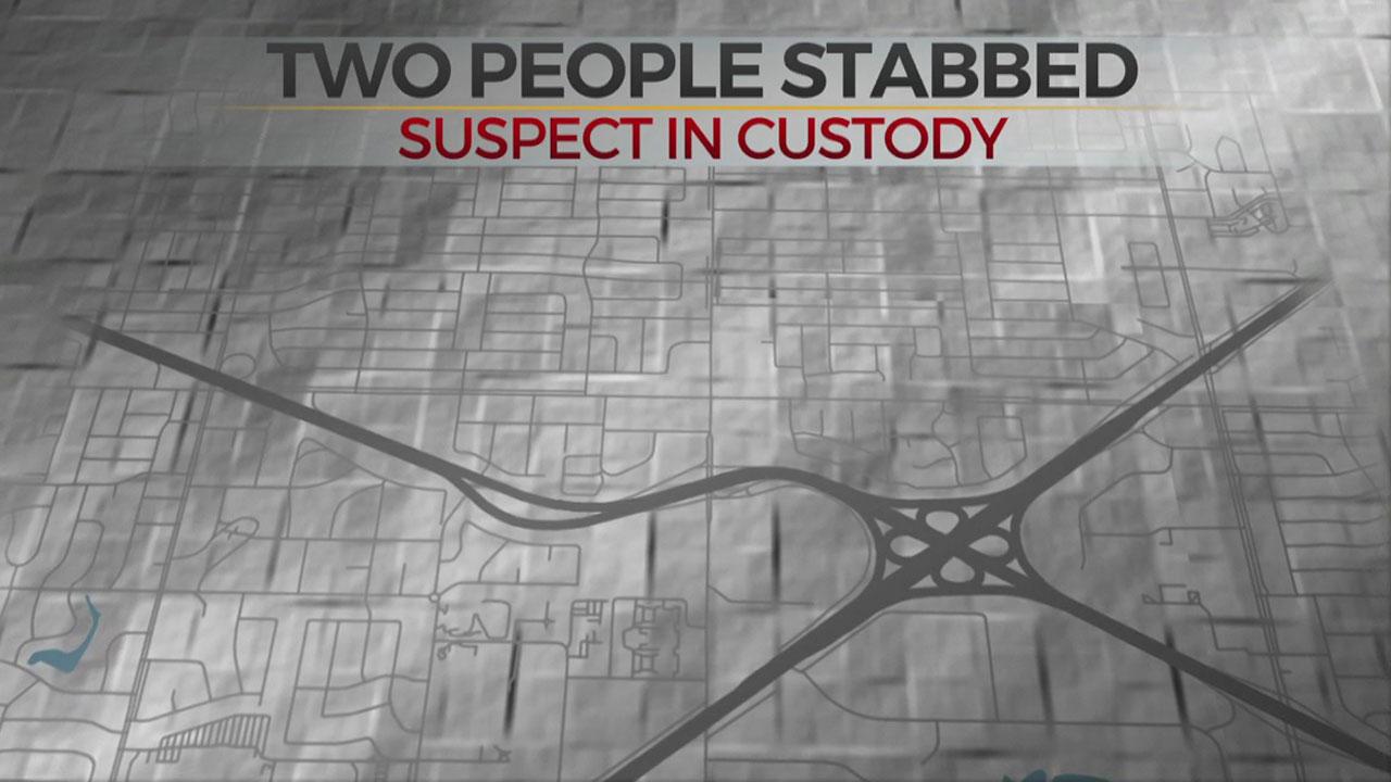 2 Stabbed Overnight In SW OKC