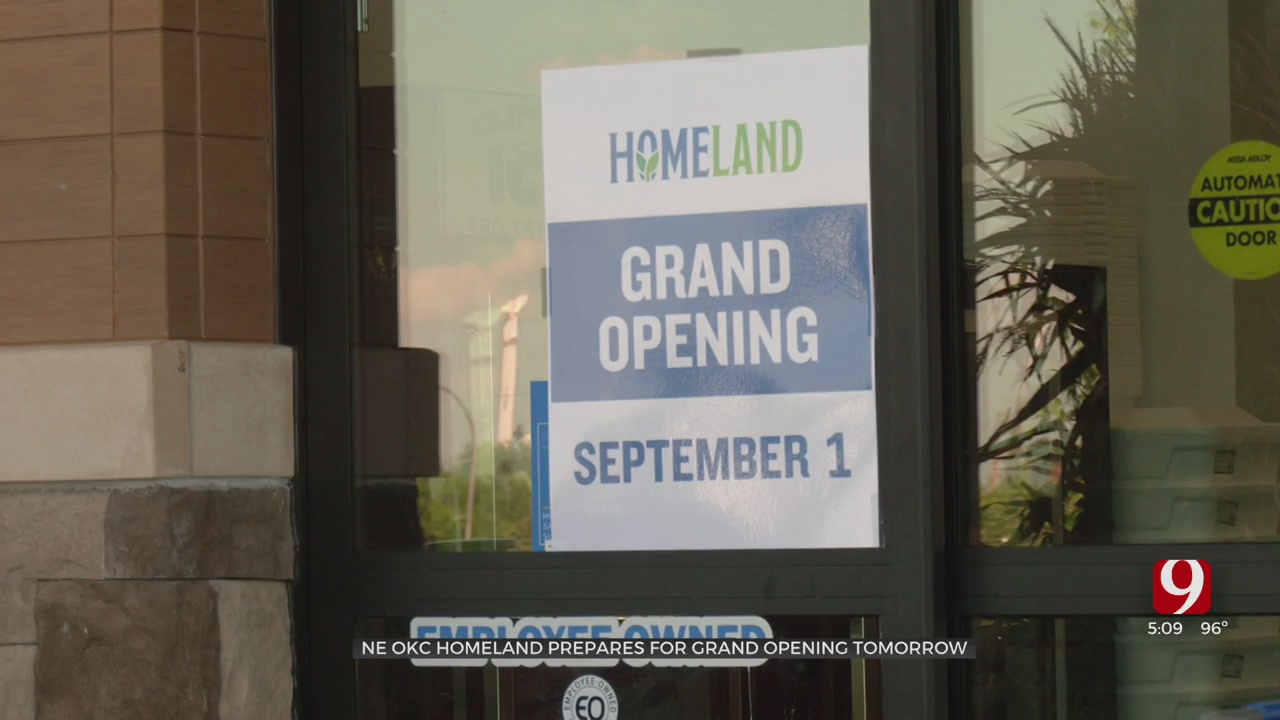 Homeland In NE OKC Readies For Opening Day