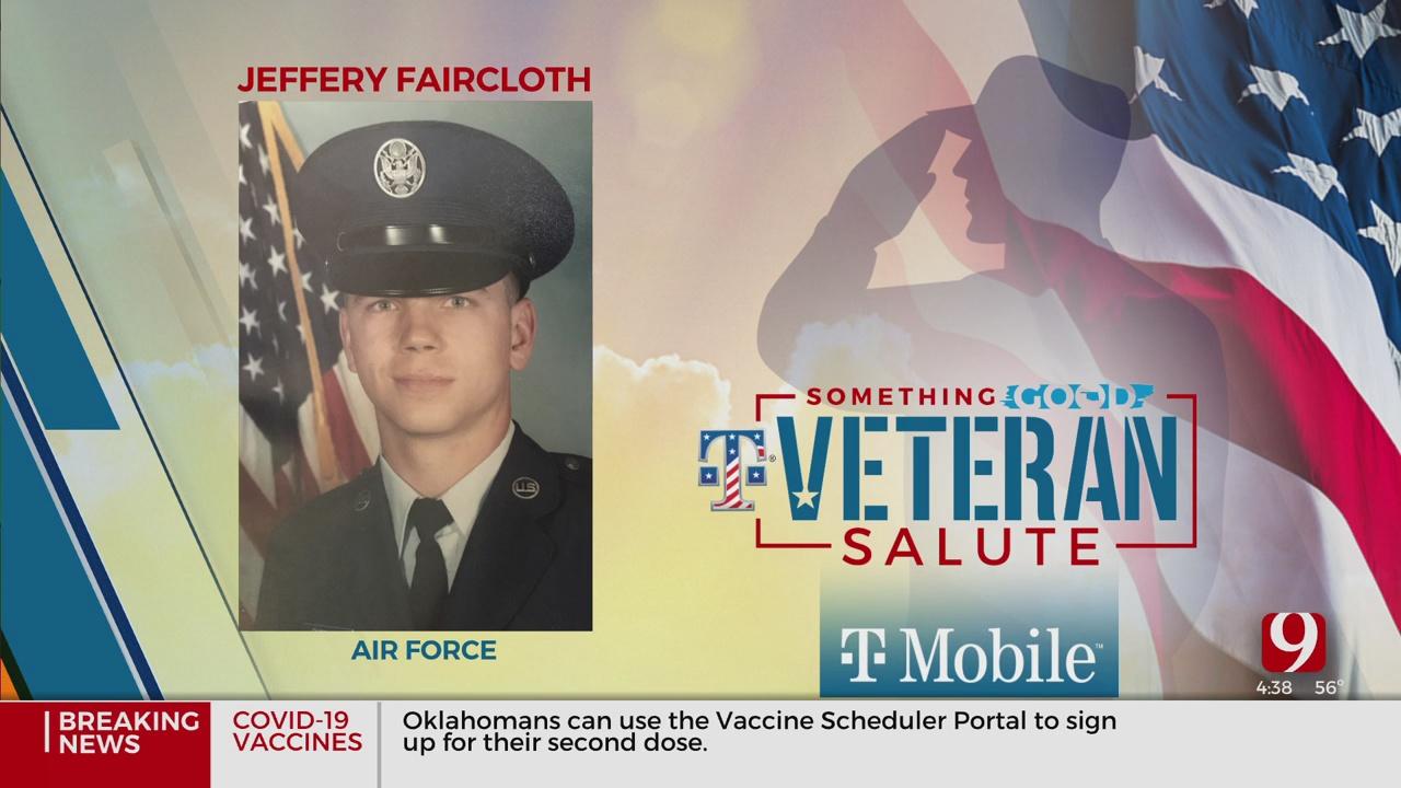 Veteran Salute: Jeffery Faircloth