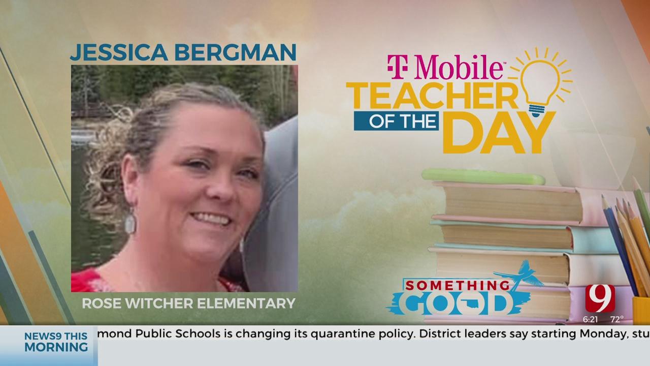Teacher Of The Day: Jessica Bergman