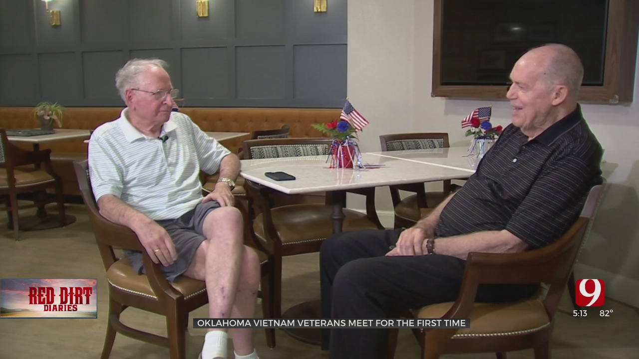 Red Dirt Diaries: Vietnam Vets With Common Bond Unknowingly Become Neighbors