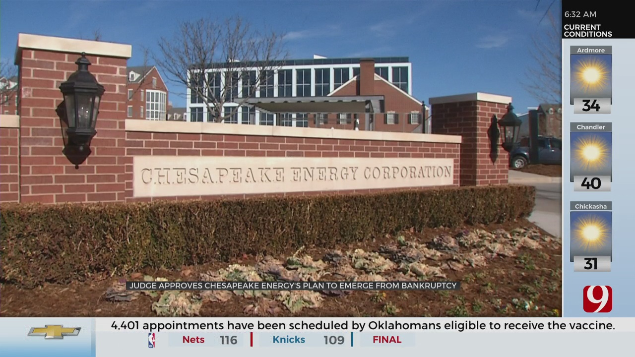 Judge Approves Chesapeake Energy Corporation's Bankruptcy Plan
