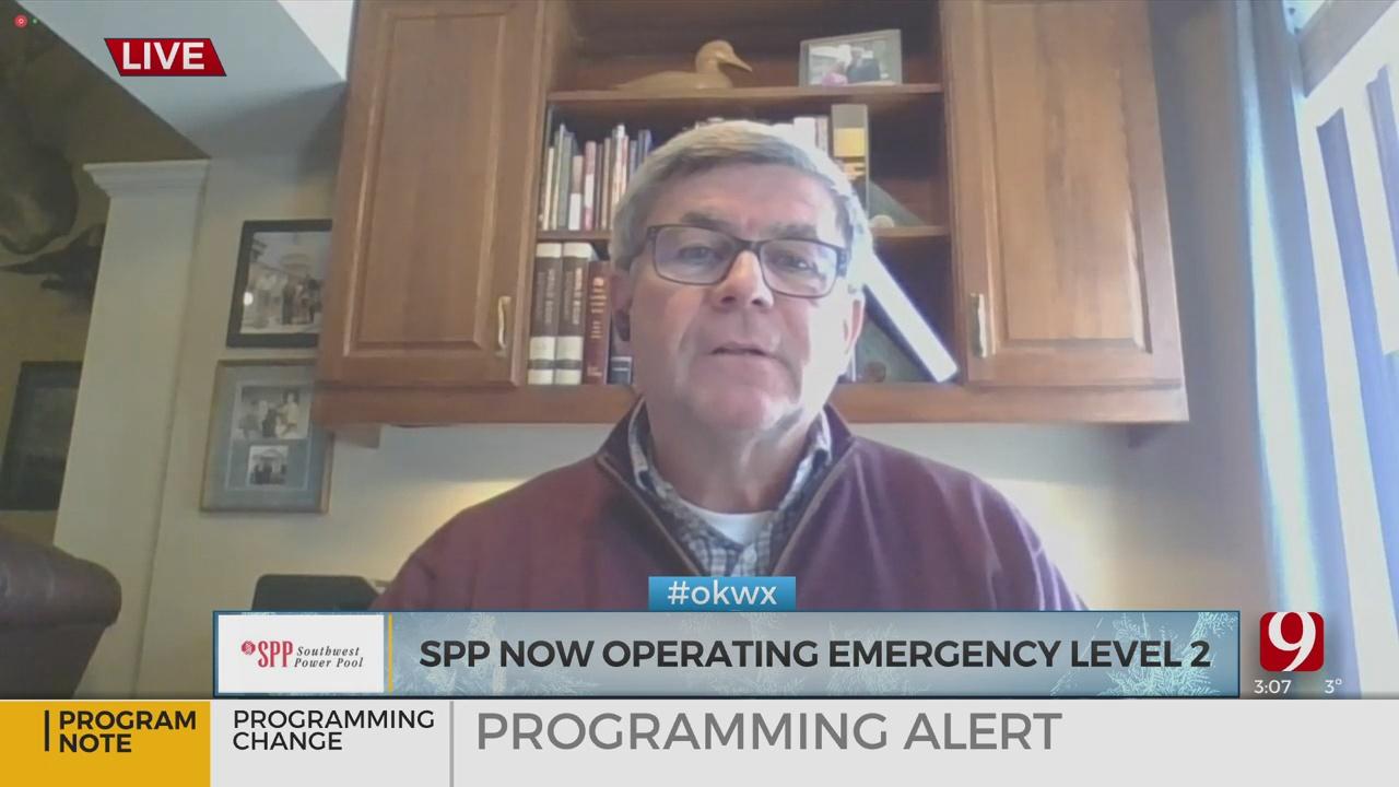 WATCH: Southwest Power Pool Lowers Energy Emergency To Level 2