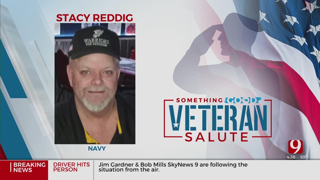 Veteran Salute: Stacy Reddig