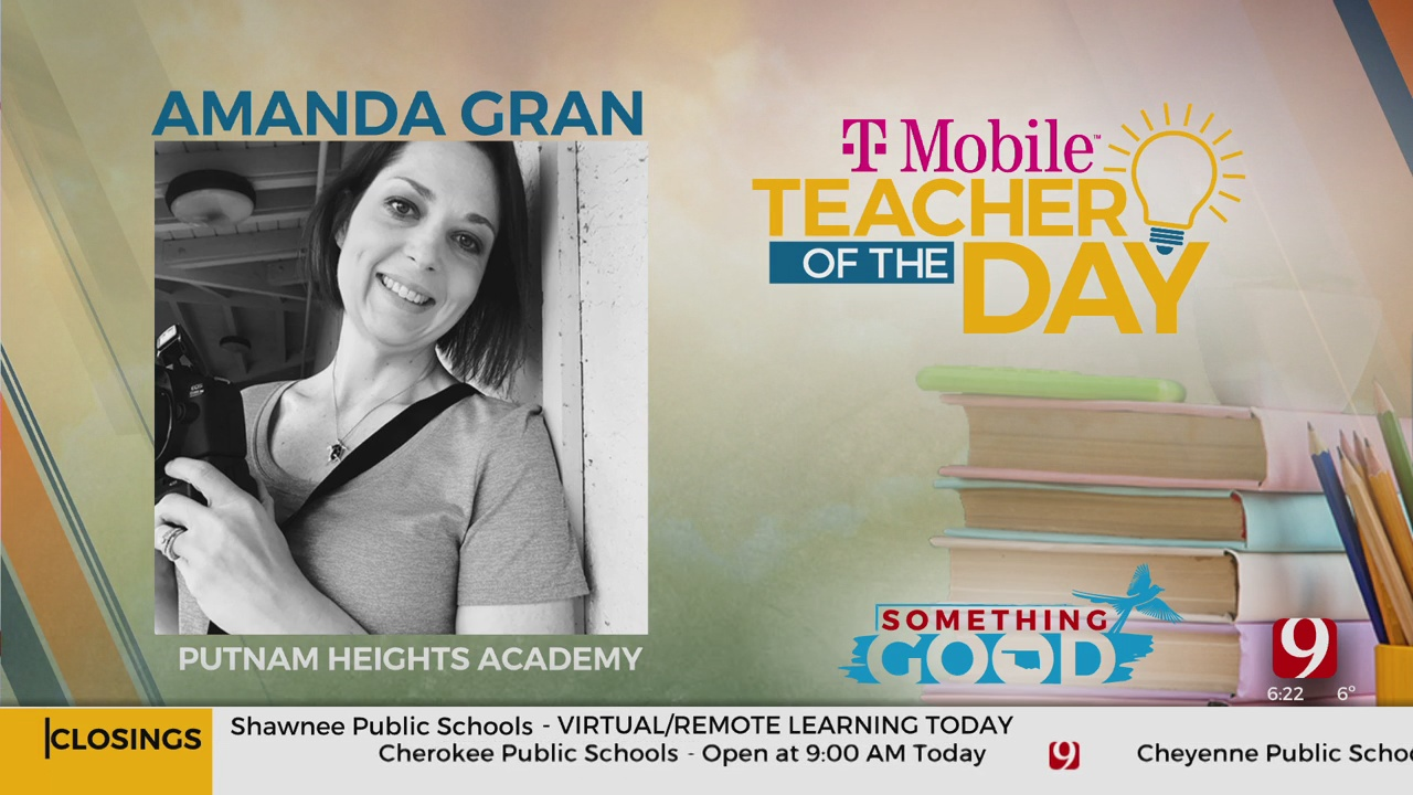 Teacher Of The Day: Amanda Gran