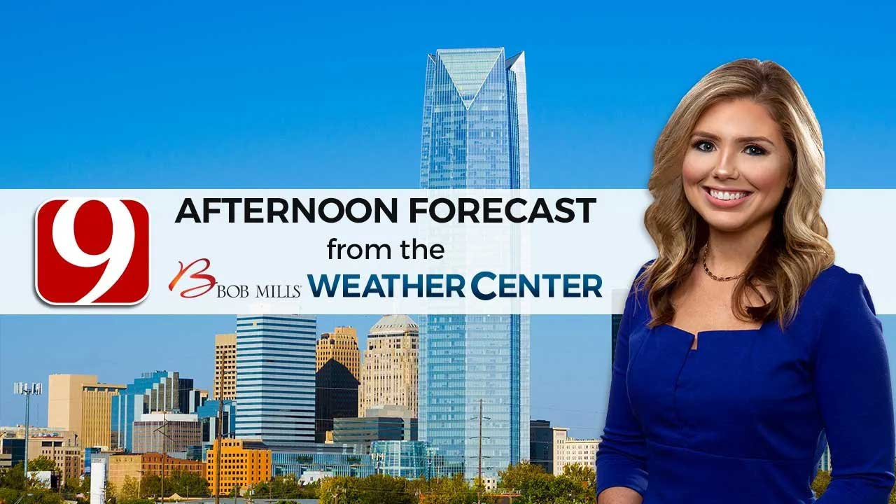 Cassie's Monday Afternoon Forecast
