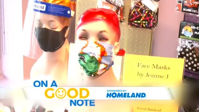 On A Good Note: Making Masks, Feeding Oklahomans