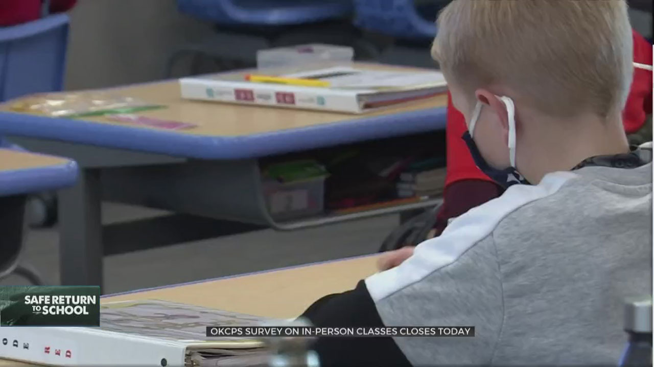 Deadline Approaches For OKCPS Survey On In-Person Classes