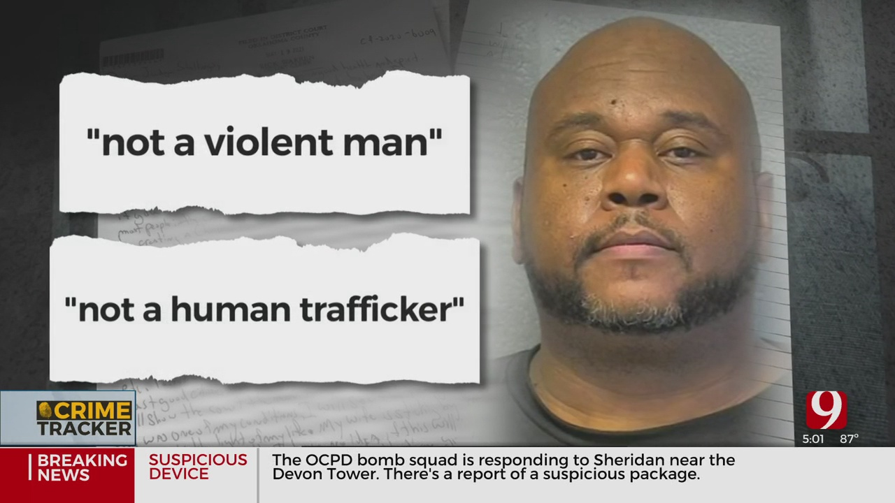 Human Trafficking Suspect Sends Letter To Okla. County Judge, Asks For Second Chance