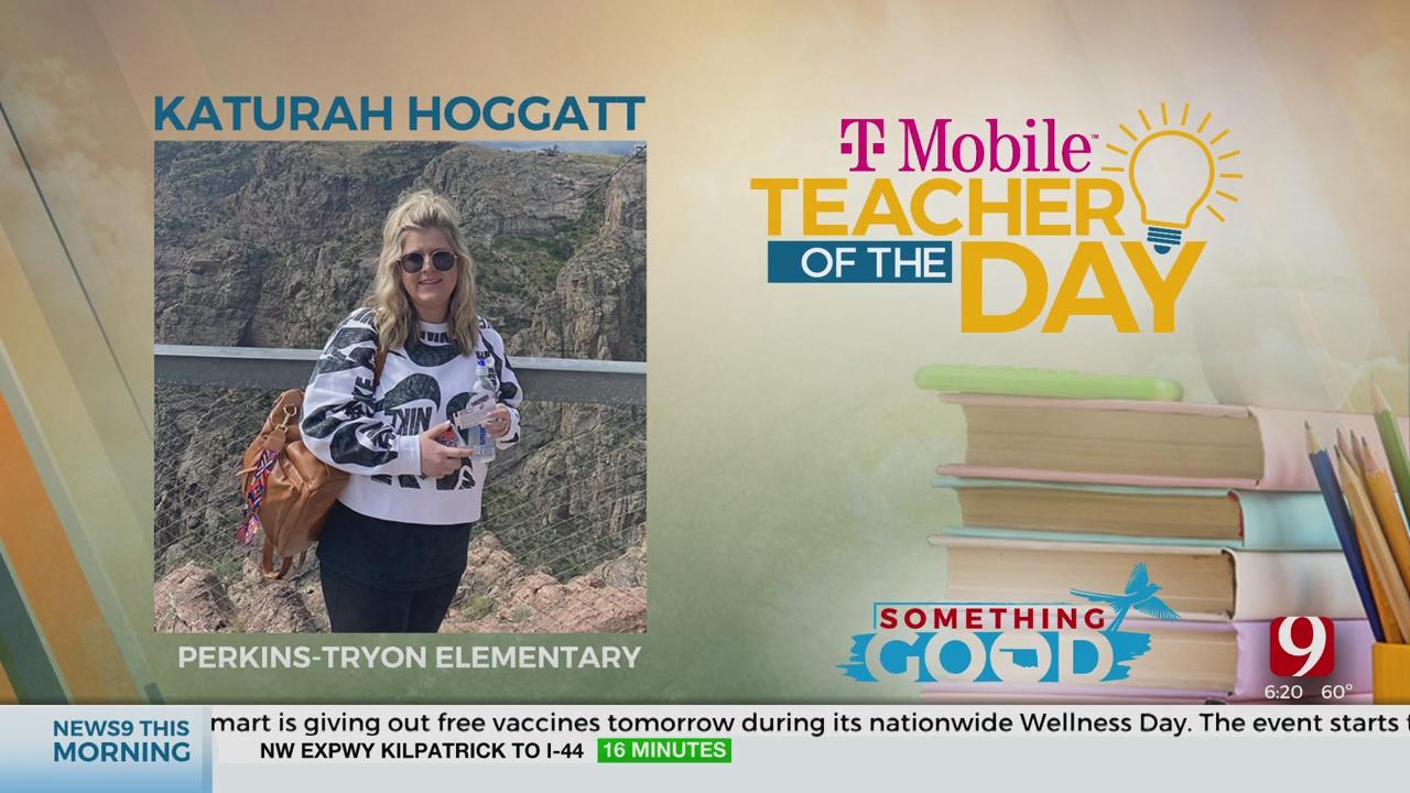 Teacher Of The Day: Katurah Hoggatt