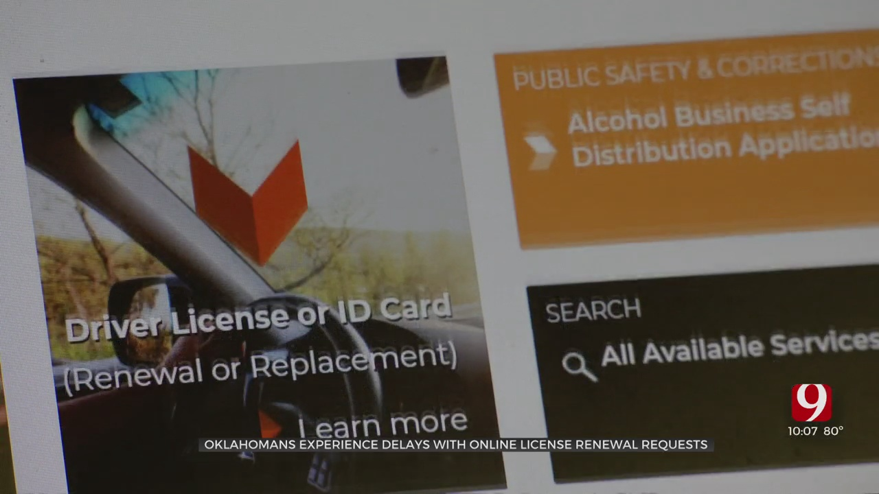 Oklahoma Moving Through 2-Month Backlog Of Online License Renewal Requests
