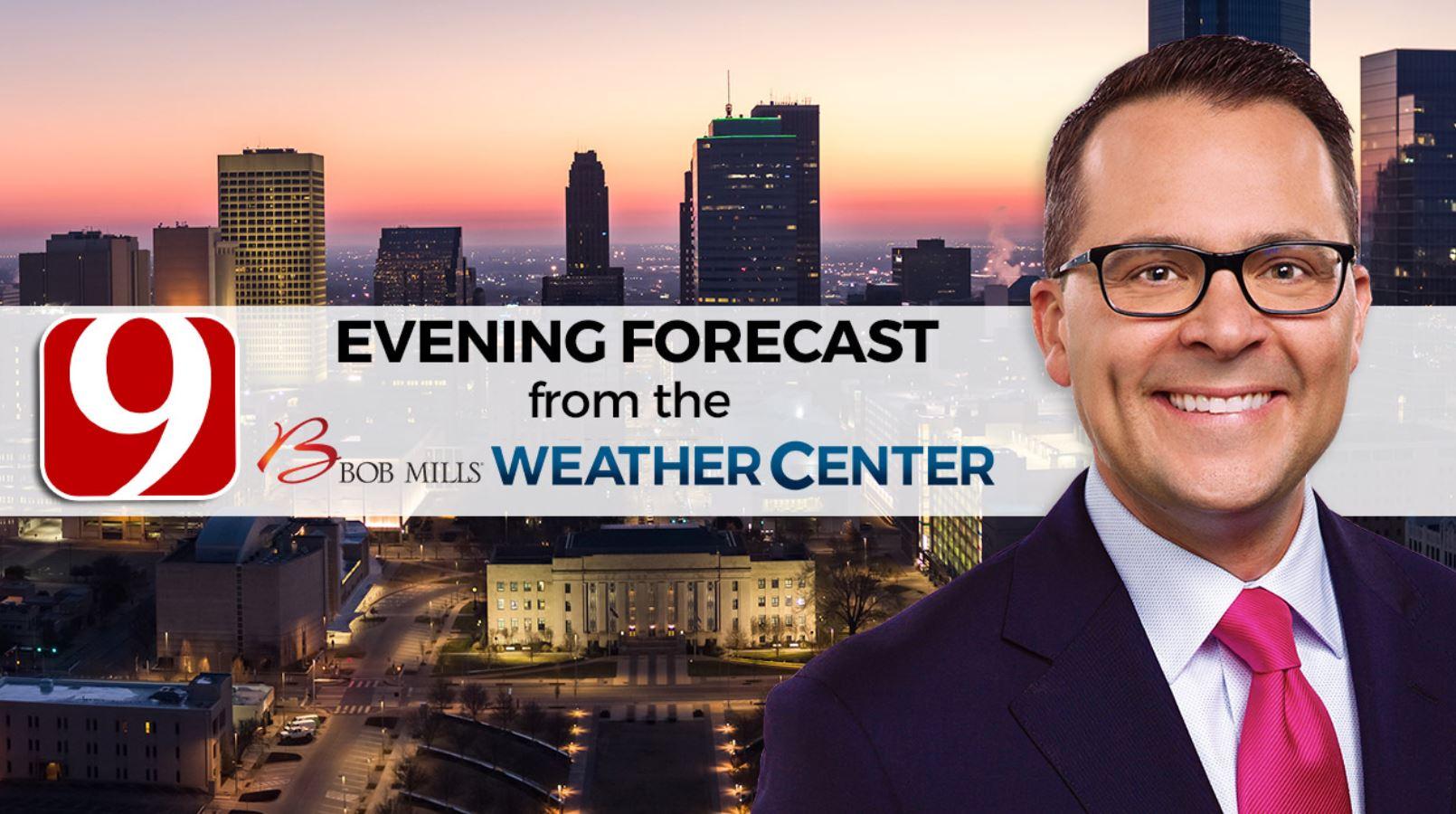Saturday Evening Forecast With Justin Rudicel