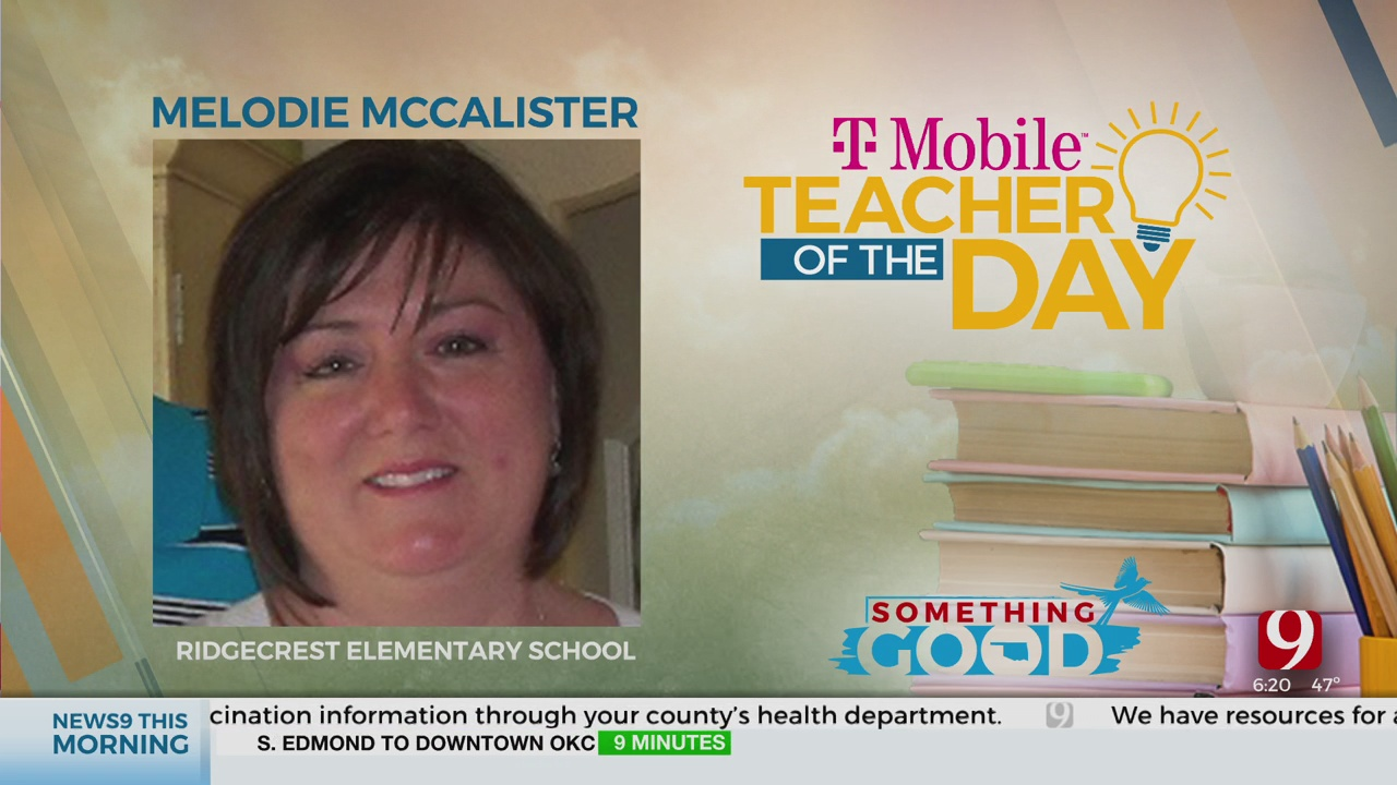Teacher Of The Day: Melodie McCalister