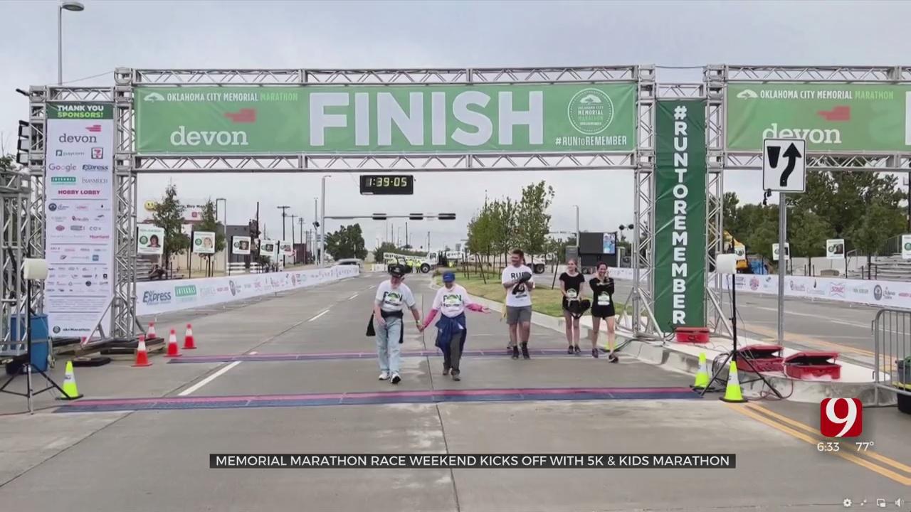 Memorial Marathon Race Weekend Kicks Off With 5K & Kids Marathon