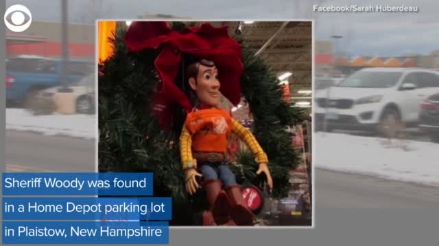 WATCH: Sheriff Woody Doll Gets Lost At Home Depot