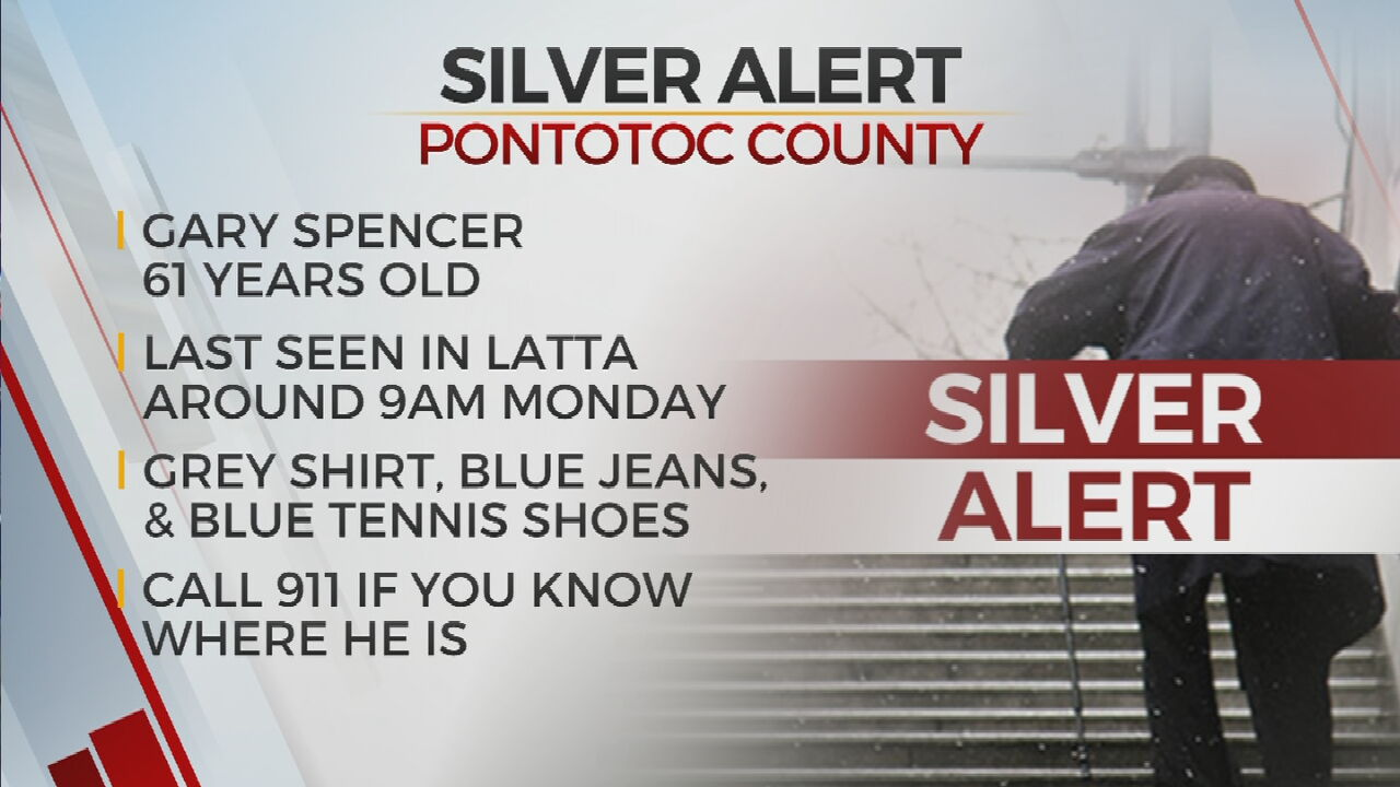 Silver Alert Issued For Missing 61-Year-Old Man Last Seen In Pontotoc County