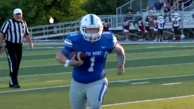 WATCH: Mt. St. Mary Football Player With Down Syndrome Scores Touchdown