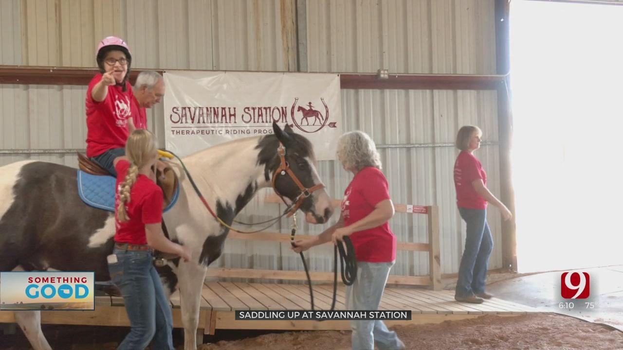 Something Good: Healing Through Horses At Savannah Station