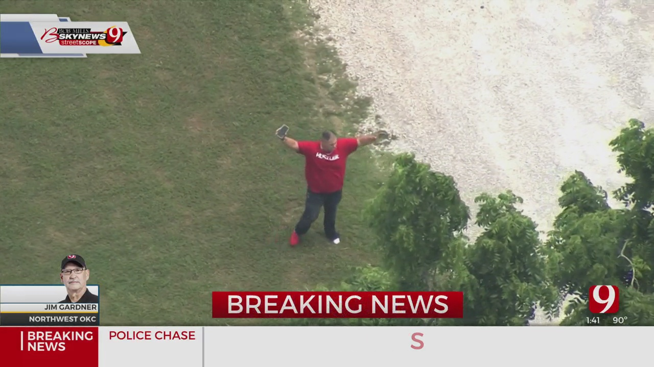 Authorities Apprehend Suspect After Chase In Northwest OKC