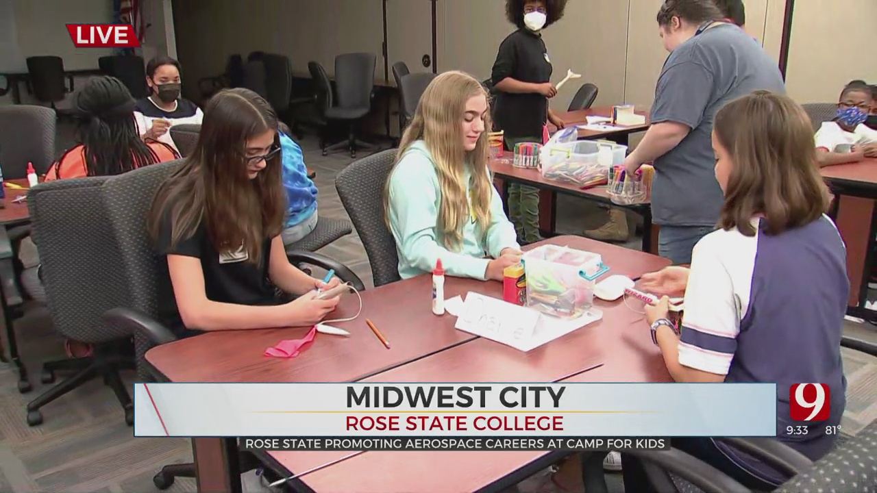 Rose State College Promotes Aerospace Careers At Camp For Kids