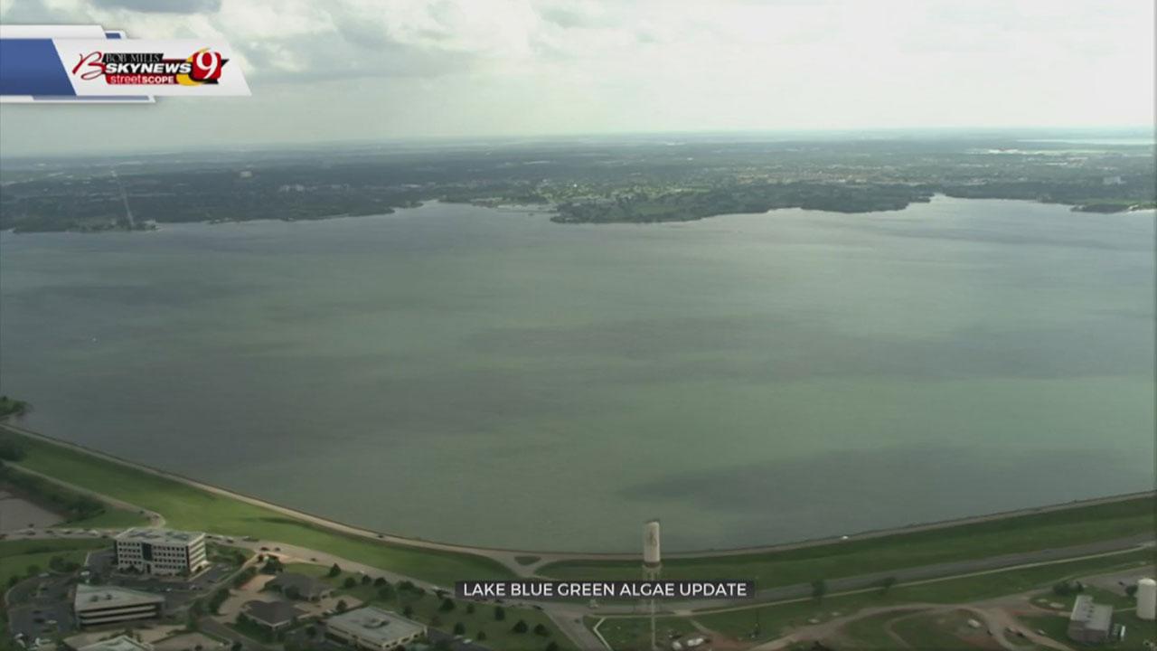 Blue-Green Algae Removed From Lake Hefner