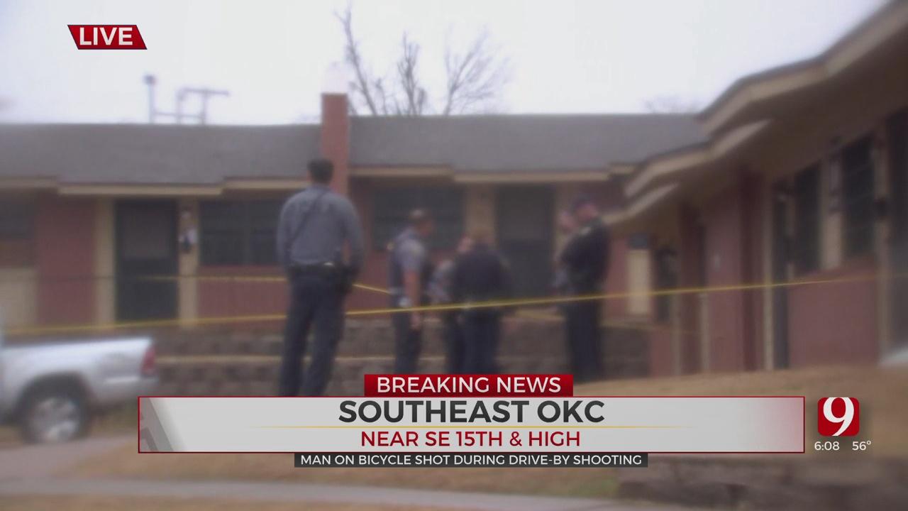 OCPD: 1 Person Shot Southeast Of Downtown OKC