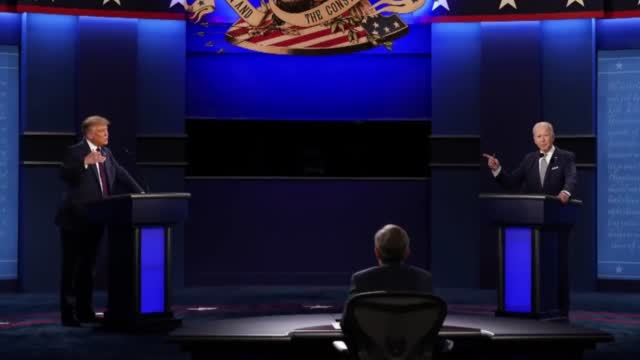 Commission On Presidential Debates Says It Will Mute Mics During Parts Of Final Presidential Debate