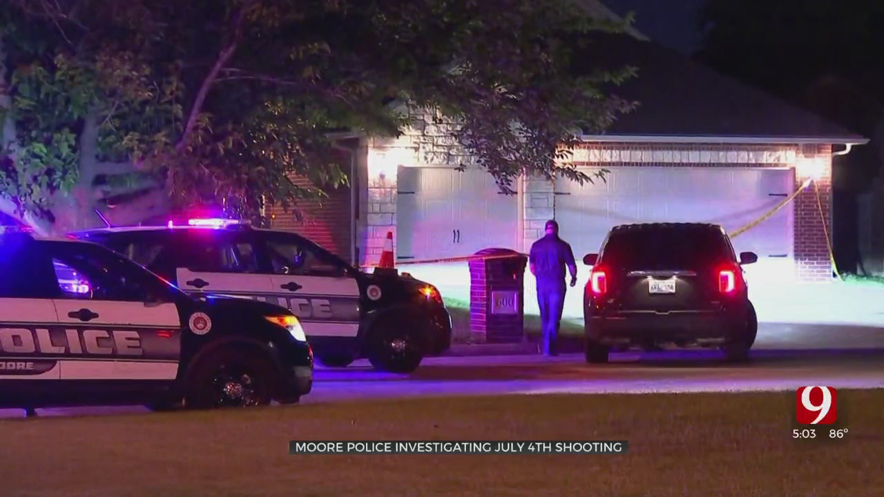 Moore Residents Run For Cover After Neighbor Opens Fire