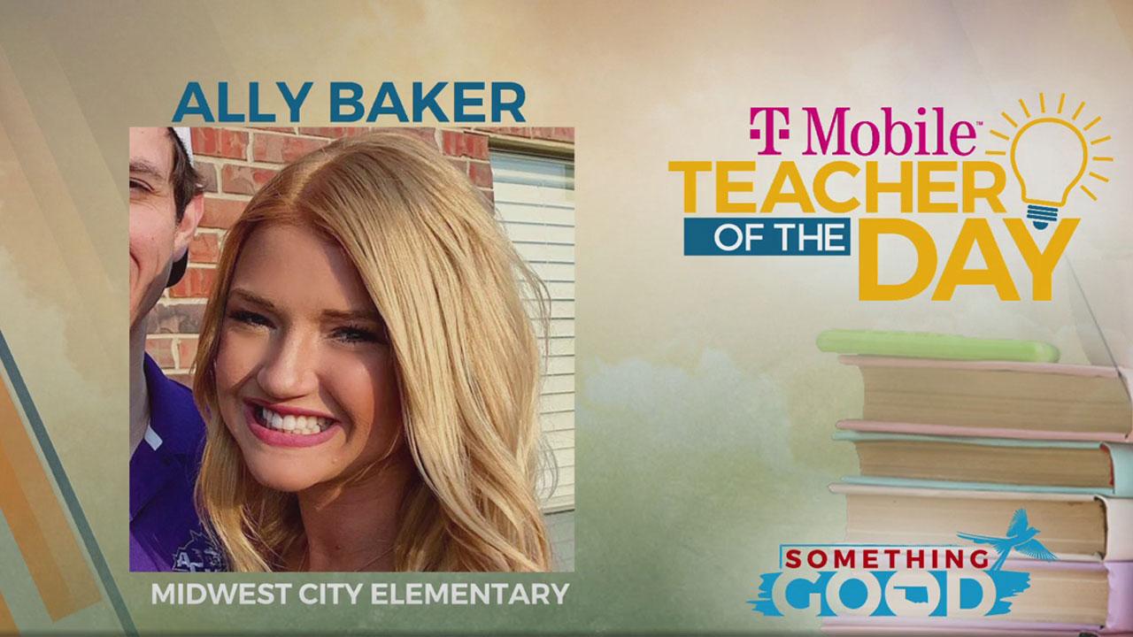 Teacher Of The Day: Ally Baker