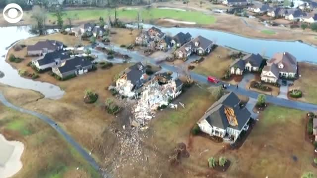 WATCH: At Least 50 Homes Damaged In Deadly, Overnight Tornado In North Carolina
