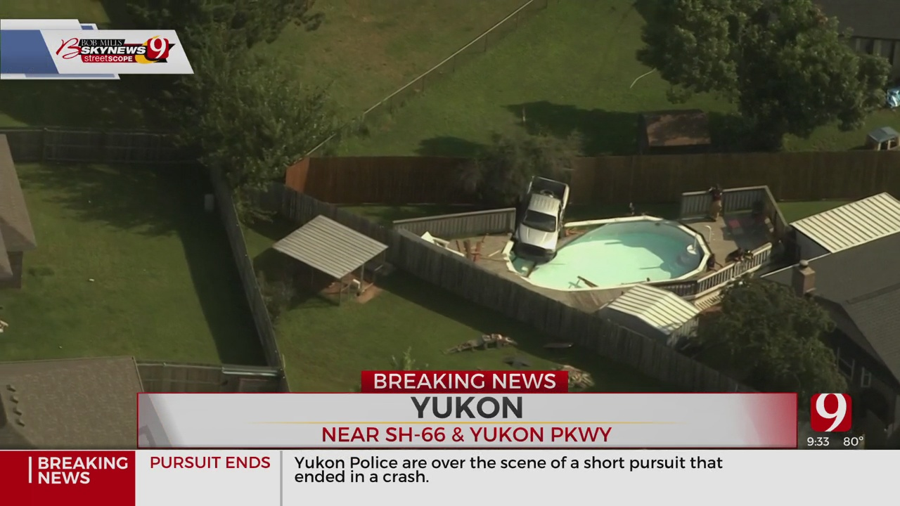 Man Caught After Short Police Chase In Yukon
