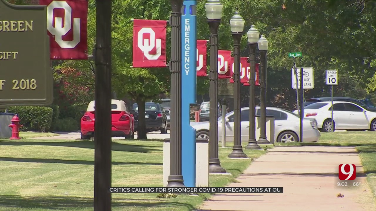 OU Students And Staff Call For Stronger COVID Protocols
