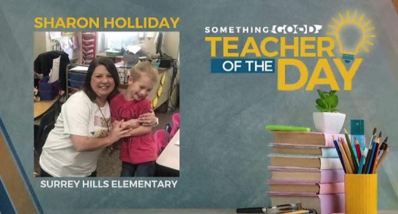 Teacher Of The Day: Sharon Holliday