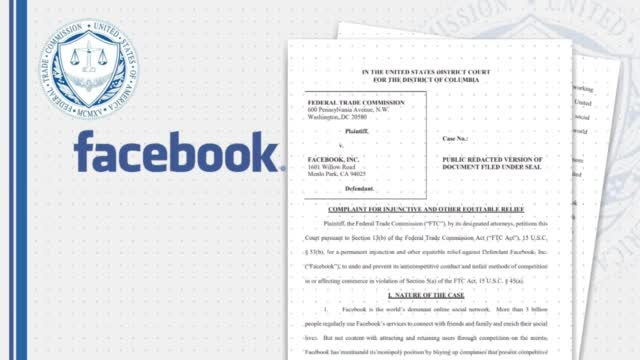US Government, States Bring Antitrust Action Against Facebook