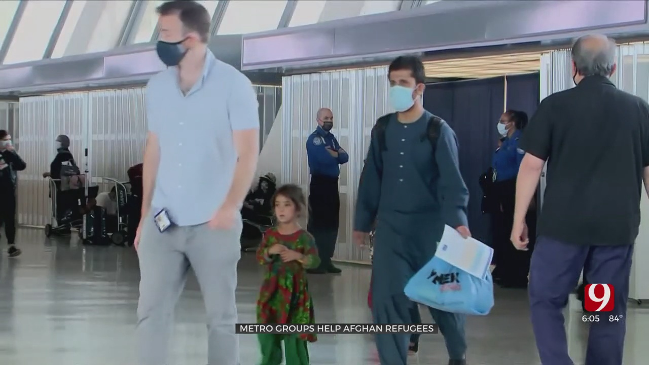 First Afghan Refugee Family Arrives In Oklahoma