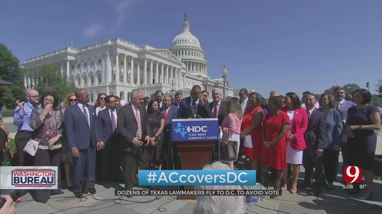 Texas Democratic Lawmakers Go To DC To Stop The Passing Of Republicans' Voting Bill