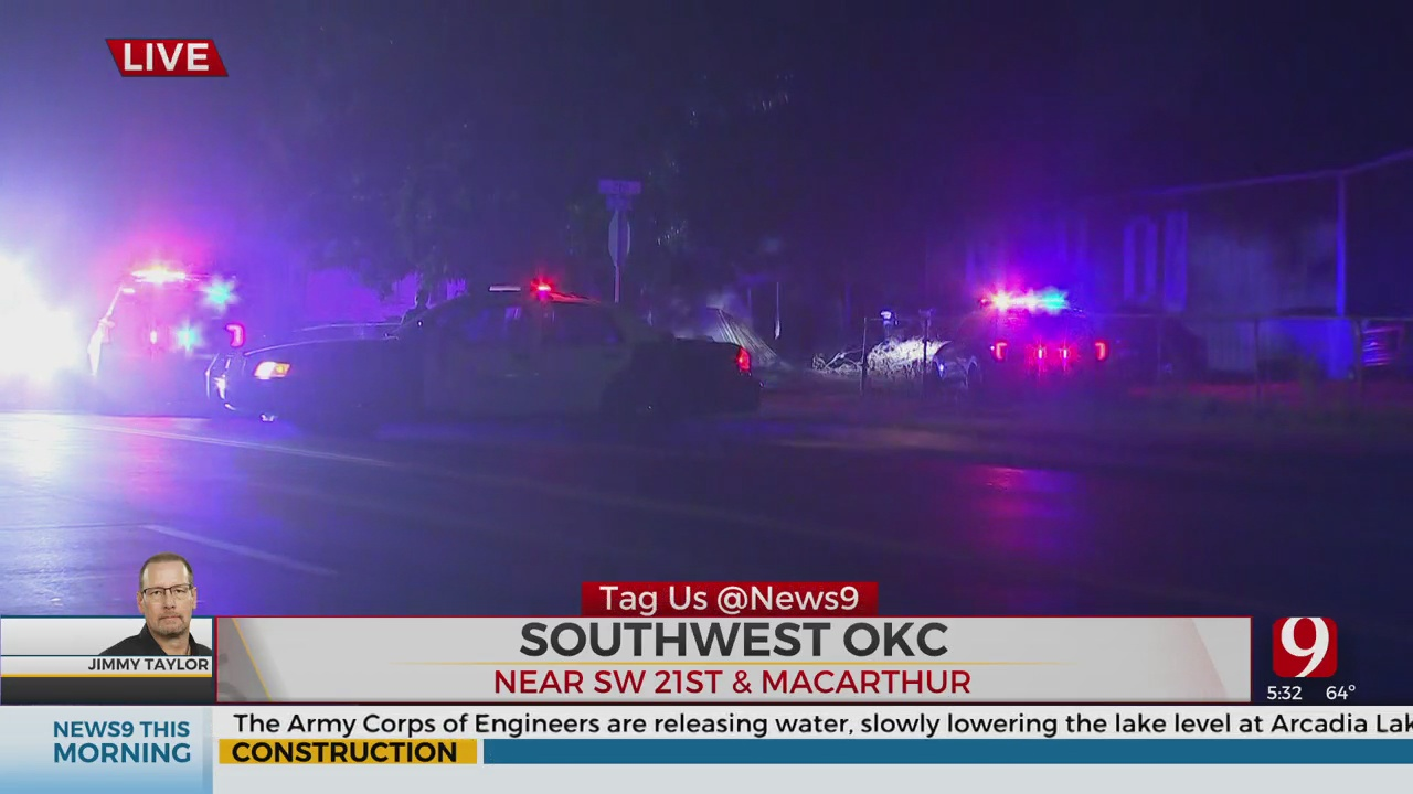 1 Killed, 1 Injured After Hit-And-Run Crash In SW OKC