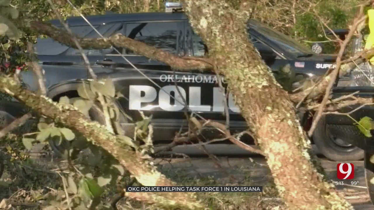 OKC Police Among First Responders Helping In Louisiana