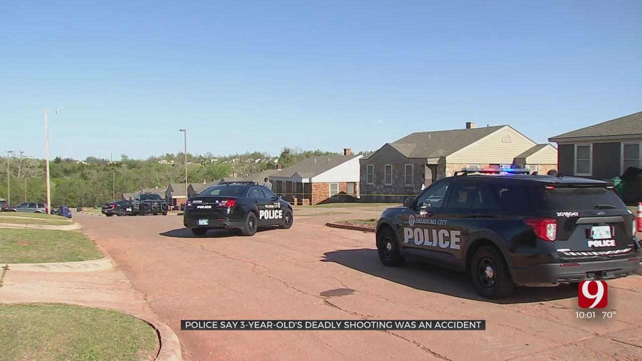 OCPD: 3-Year-Old Dies In Apparent Accidental Shooting In NE OKC