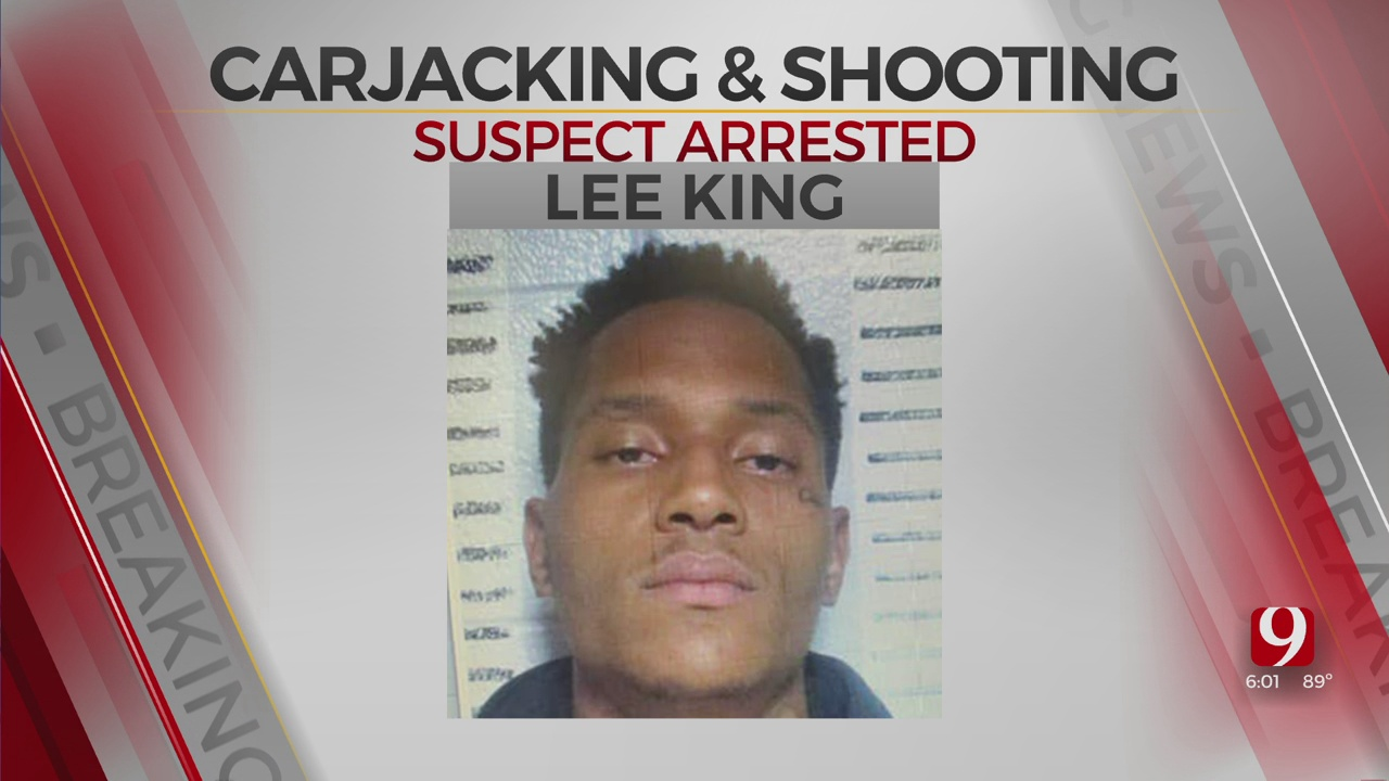 Suspect Wanted In Connection With OKC Carjacking & Shooting Of 3 People Caught In Dallas