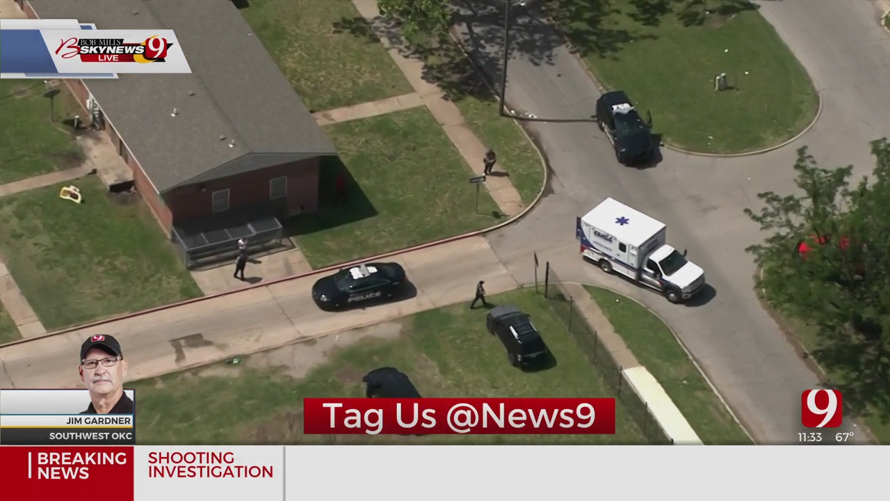 1 Injured In SW OKC Shooting, Police Say