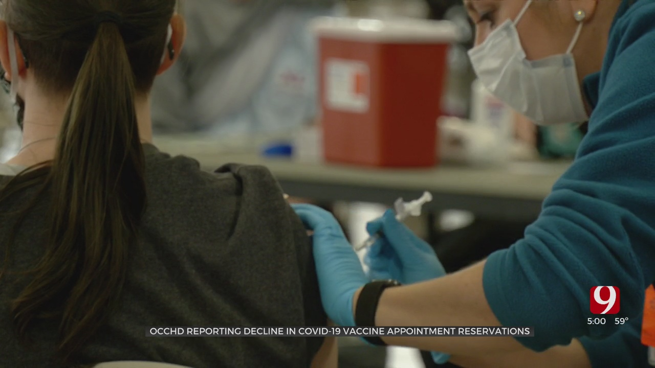 OCCHD Officials Urge Oklahomans To Get The Vaccine As Demand For It Drops