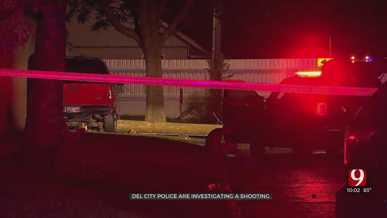 Del City Police Investigate Shooting; 1 Taken To Hospital