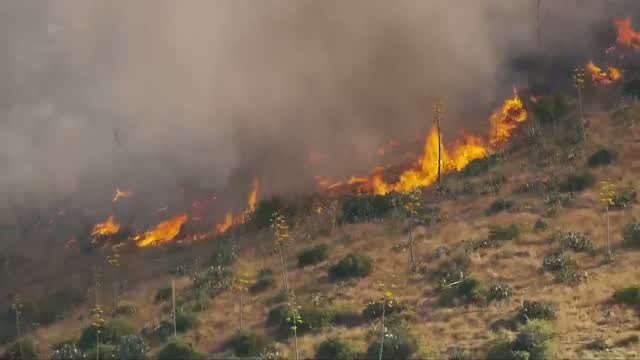 Arizona Brush Fire Has Spread To Over 89,000 Acres Of Land