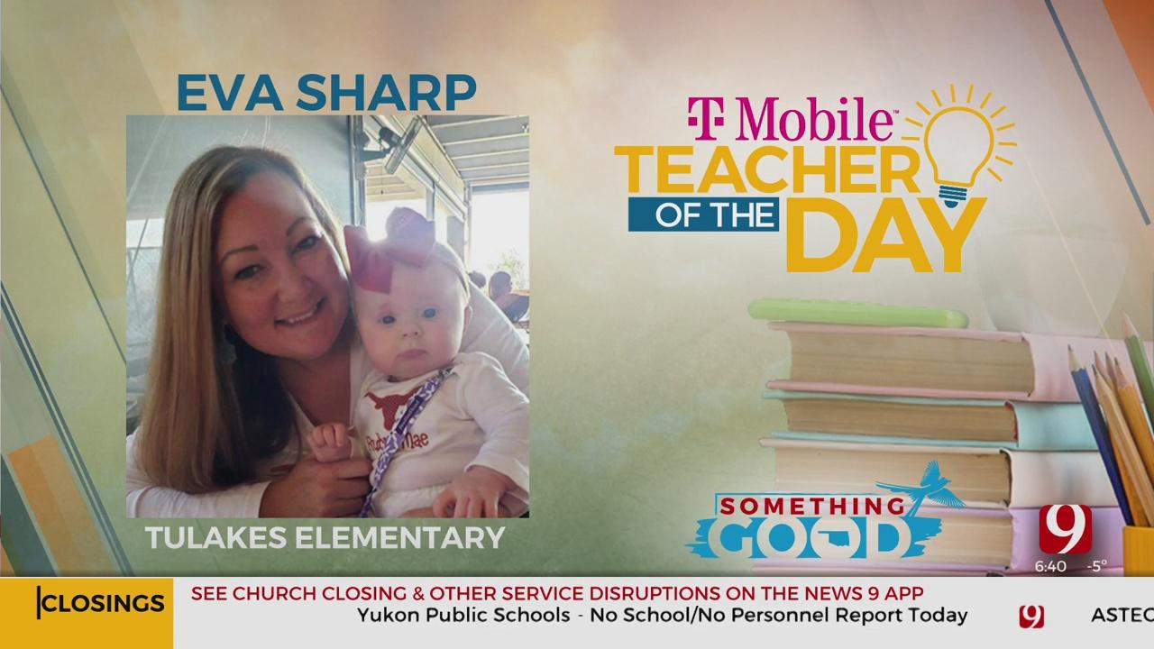 Teacher Of The Day: Eva Sharp